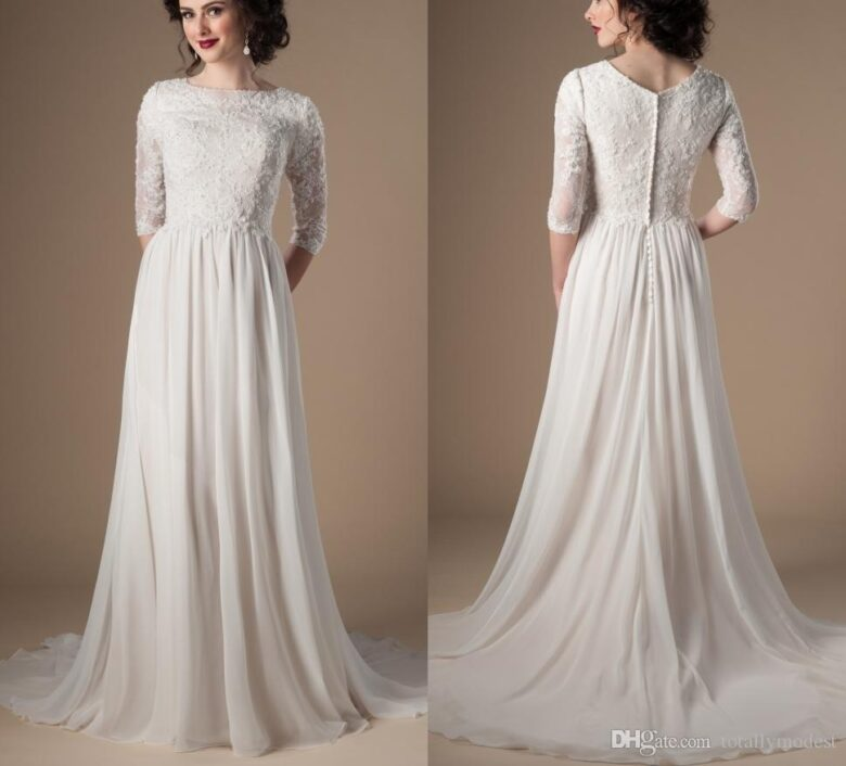 Modest Wedding Dresses: Best 21 Modest Wedding Dresses In 2019