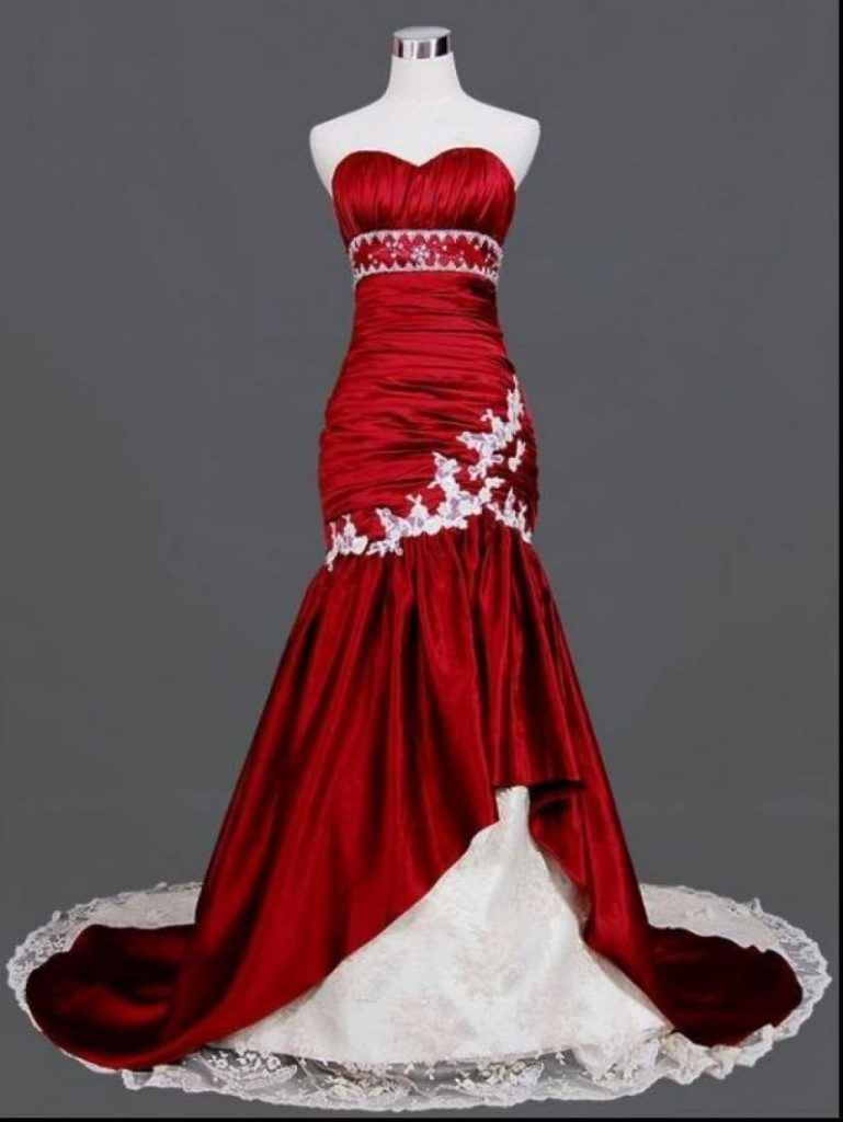 Red And White Wedding Dresses.Best 9 Red And White Wedding Dresses In 2019 Royal Wedding