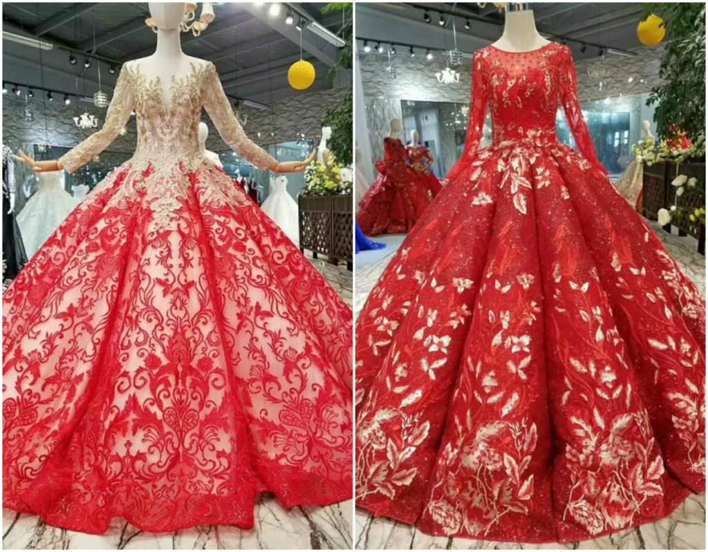 Red And White Wedding.Best 9 Red And White Wedding Dresses In 2019 Royal Wedding
