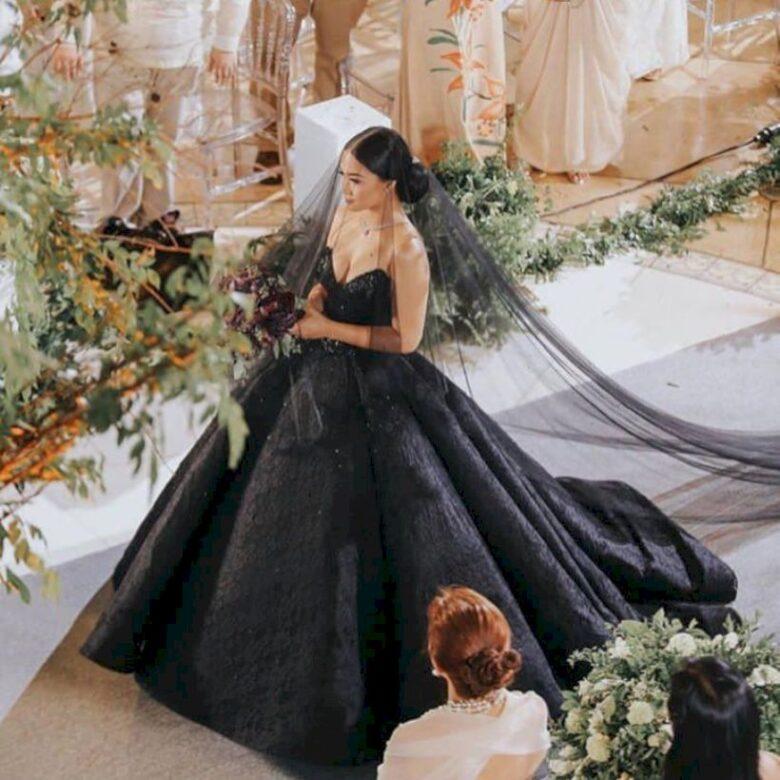 Black Wedding Gown.Best 15 Black Wedding Dresses For 2019 Royal Wedding