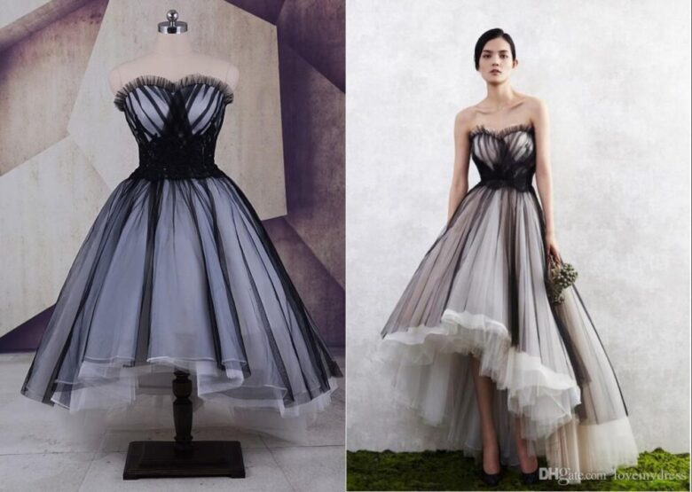 15 Best Black And White Wedding Dresses In 2020 Royal Wedding