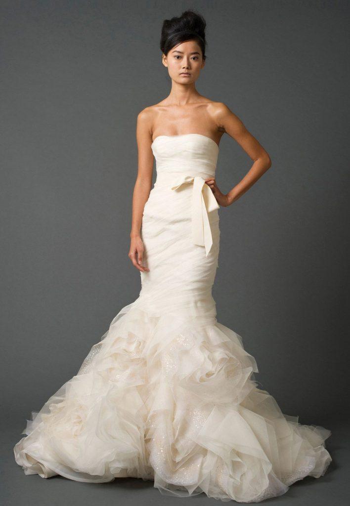 5 Most Beautiful Vera Wang Wedding Dresses - Royal Wedding