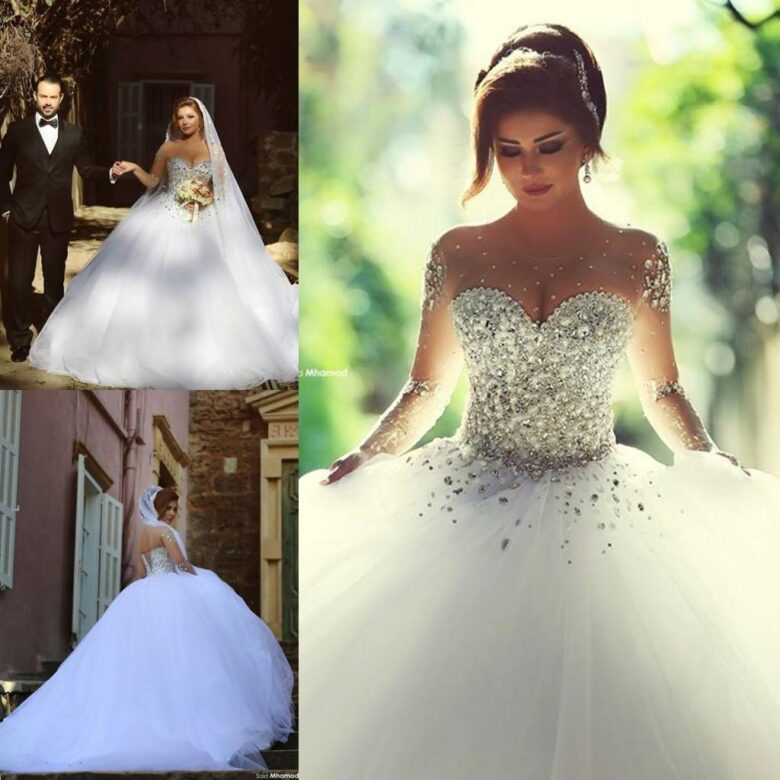 15 Best Crystal Wedding Dress In 2020 Royal Wedding