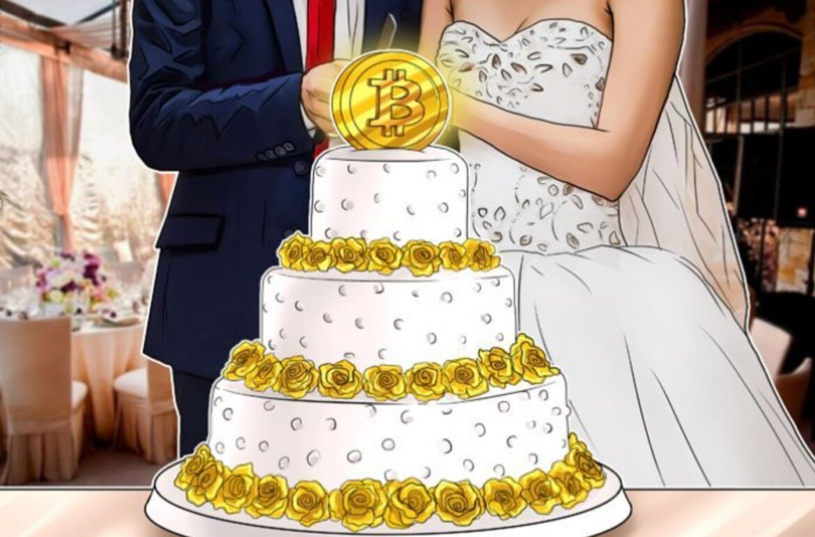 bitcoins pictures of wedding